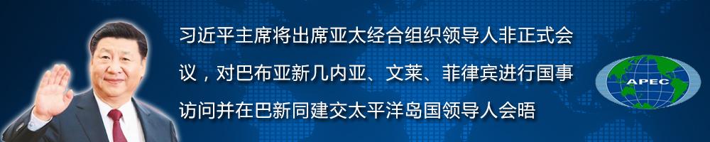 习近平主席出席亚太经合组织领导人非正式会议