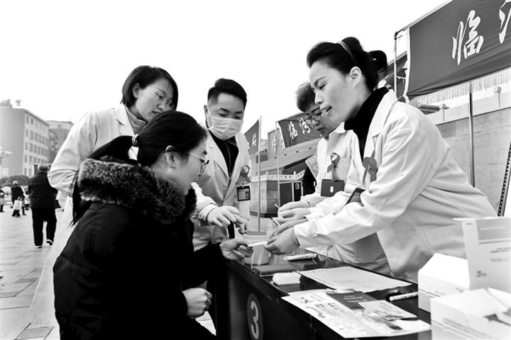 临汾:主动检测 知艾防艾 共享健康