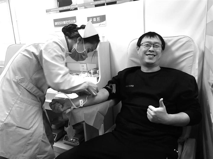 """临汾:无偿献血 用爱为生命""""加油"""""""