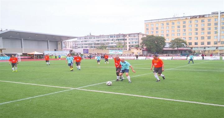 第29届全国友好城市中老年足球赛在临汾开赛