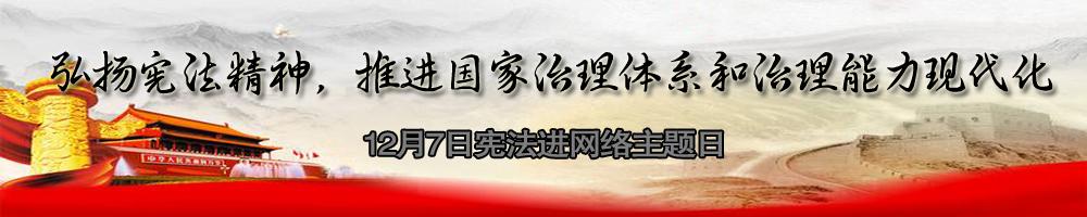 宪法进网络主题日