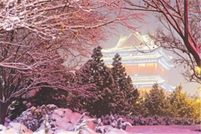 【散文】冬季到诗中来看雪