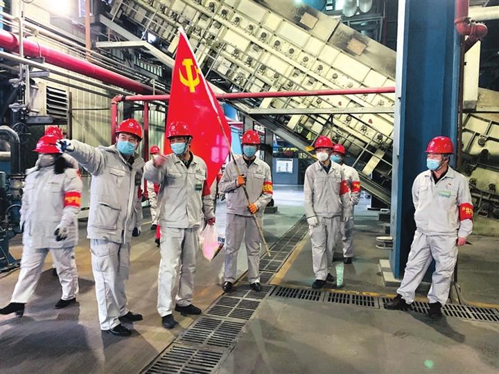 临汾热电公司:我是党员 我坚守