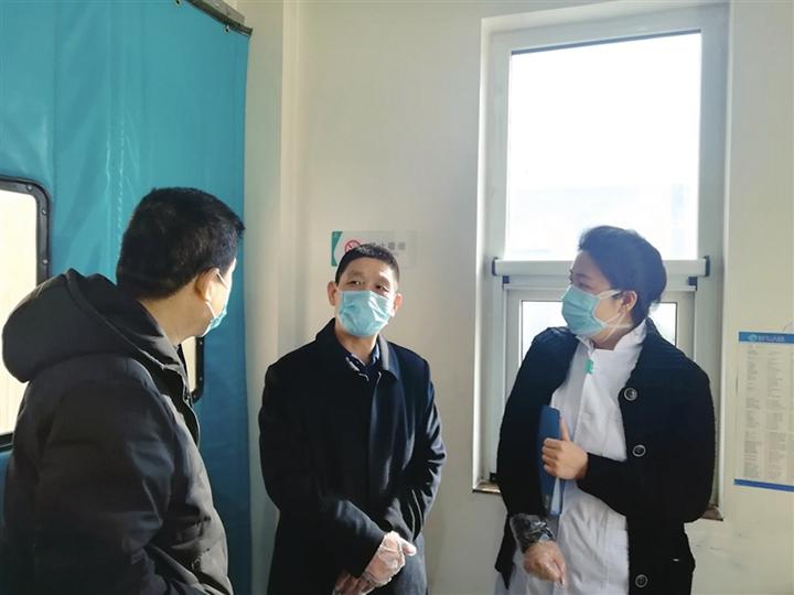 临汾市生态环境局固化科阻击疫情侧记