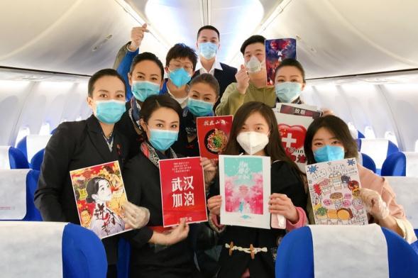 山西第12批支援湖北医疗队飞抵武汉,173位医护人员走向战场