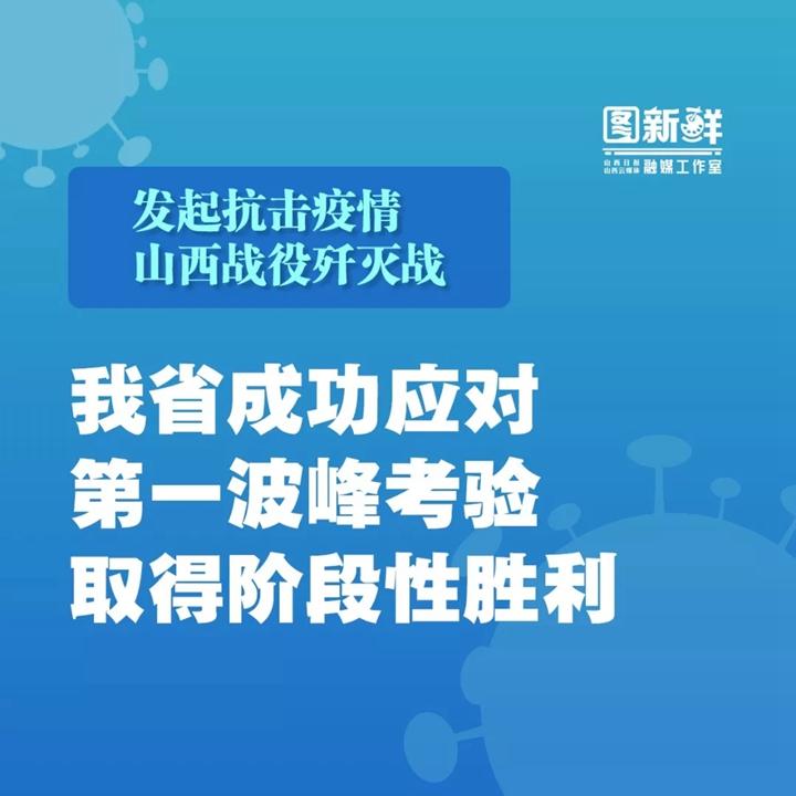 """发起抗击疫情山西战役歼灭战,省委提出""""五个更加精准有效"""""""