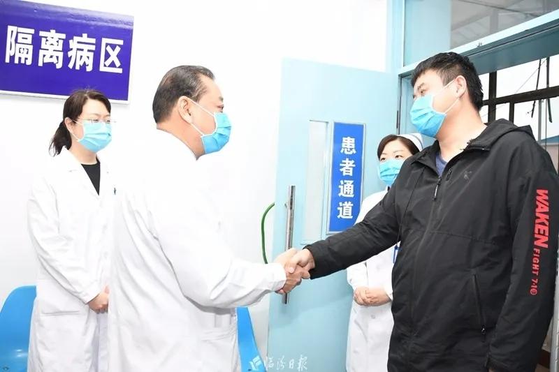 刚刚,临汾第2例新冠肺炎确诊患者出院