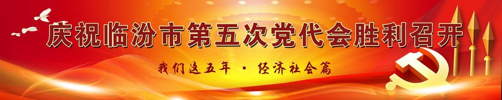 庆祝临汾市第五次党代会胜利召开 我们这五年·经济社会篇